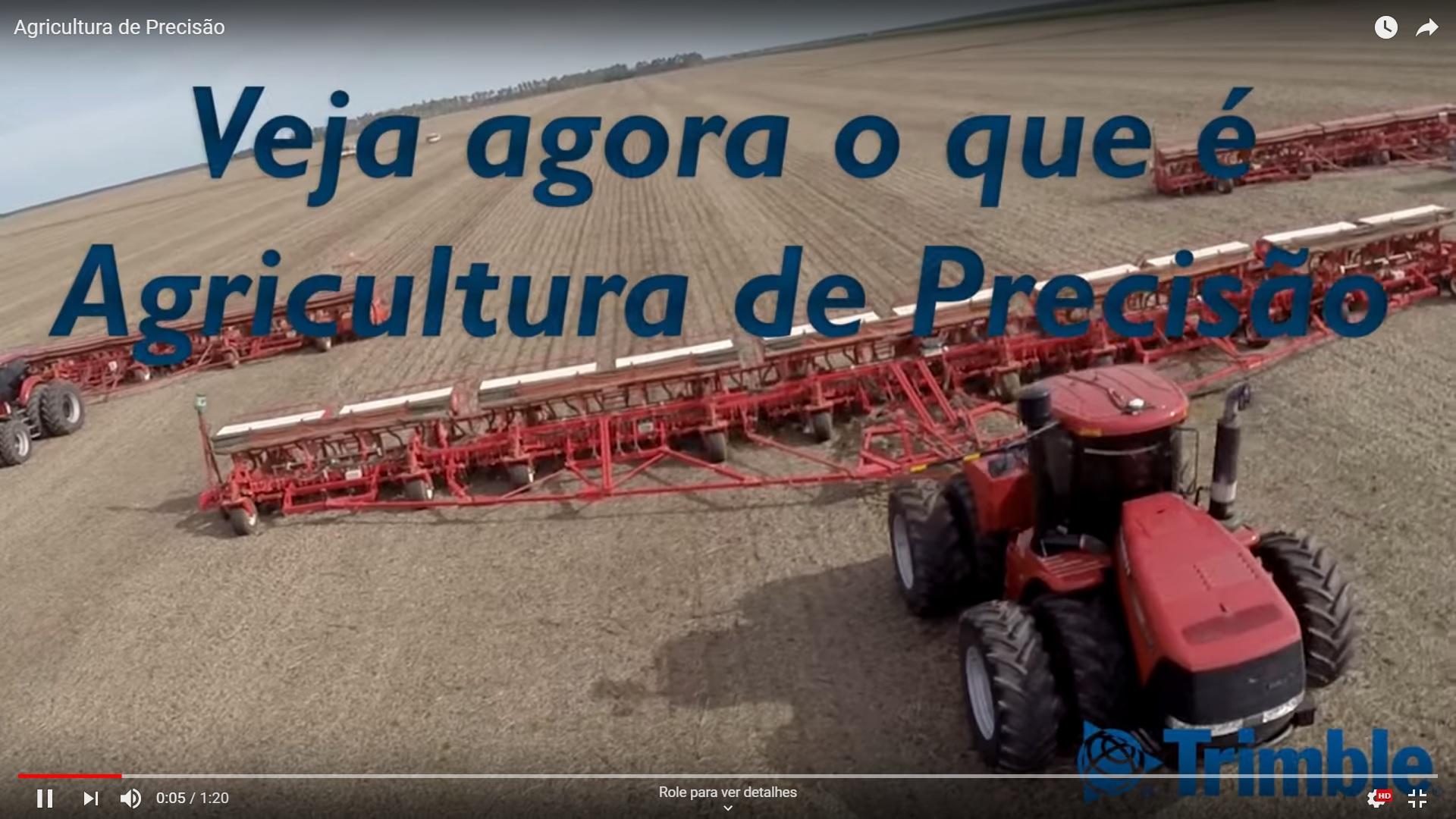 Agricultura de Precisão!