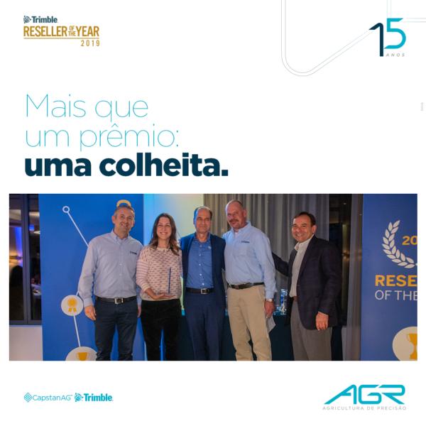 AGR: DISTRIBUIDOR DO ANO – TOP PERFORMER 2019